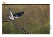 Belted Kingfisher Liftoff Carry-all Pouch