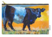 Belted Galloway Cow Side View Carry-all Pouch