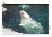 Beluga Whale Poster Carry-all Pouch