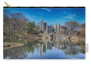 Belvedere Castle And Turtle Pond Carry-all Pouch