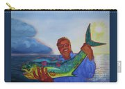 Ben And The Dolphin Fish Carry-all Pouch