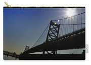Ben Franklin Bridge 2 Carry-all Pouch