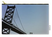Ben Franklin Bridge Carry-all Pouch