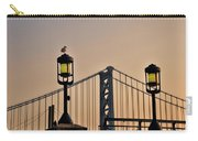Ben Franklin Bridge In Early Morning Carry-all Pouch