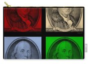Ben Franklin In Colors Carry-all Pouch