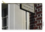Ben Franklin Rental Sign Carry-all Pouch