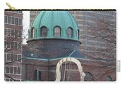 Ben Franklin Sculpture And St Peters Basilica Philadelphia Carry-all Pouch