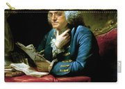 Ben Franklin Carry-all Pouch by War Is Hell Store