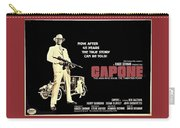 Ben Gazarra British 4 Sheet Theatrical Poster Capone 1975 Color Added 2016 Carry-all Pouch