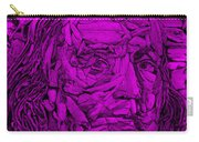 Ben In Wood Purple Carry-all Pouch