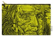 Ben In Wood Yellow Carry-all Pouch