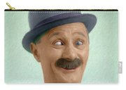 Ben Turpin, Vintage Comedy Actor Carry-all Pouch