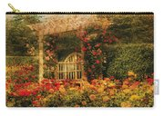Bench - The Rose Garden Carry-all Pouch