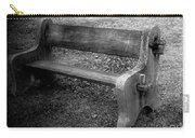 Bench By The Barn Carry-all Pouch