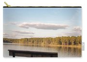 Bench By The Lake Carry-all Pouch