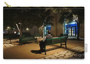 Bench For Reflection In The Night Carry-all Pouch