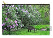 Bench In Lillacs Carry-all Pouch