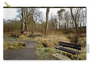 Bench In Polkemmet Park. Carry-all Pouch