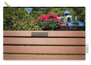 Bench In Steelhead Park Carry-all Pouch