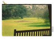Bench Under A Tree Carry-all Pouch