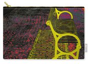 Bench With Gold Shadow Carry-all Pouch