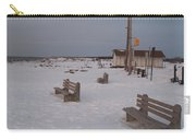 Benches At Sunset Beach Nj Carry-all Pouch