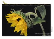 Bending Sunflower Carry-all Pouch
