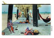 Beneath The Jacksonville Beach Pier  Carry-all Pouch