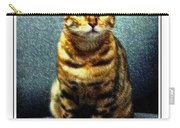Bengal Cat Digital Oil Pastel Carry-all Pouch