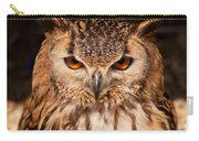 Bengal Owl Carry-all Pouch