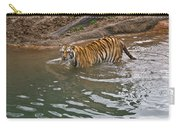 Bengal Tiger Wading Stream Carry-all Pouch