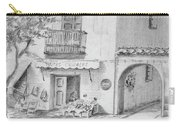 Benidorm Spain Store Front Carry-all Pouch