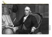 Benjamin Franklin -- The Scientist Carry-all Pouch