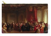 Benjamin Franklin Appearing Before The Privy Council  Carry-all Pouch by Christian Schussele