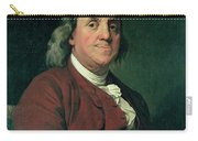 Benjamin Franklin Carry-all Pouch by Joseph Wright of Derby