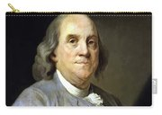 Benjamin Franklin Painting Carry-all Pouch