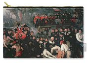 Benjamin West Carry-all Pouch by The Death of Nelson
