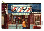 Bens Barbershop Carry-all Pouch