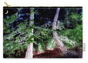 Bent Fir Tree Carry-all Pouch