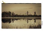 Bentley Pond Pines In Sepia Carry-all Pouch