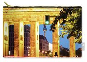 Berlin - Brandenburg Gate At Night Carry-all Pouch
