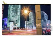 Berlin - Potsdamer Platz Square At Night Carry-all Pouch