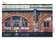 Berlin Street Art - Pull The Plug Carry-all Pouch
