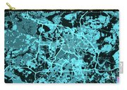 Berlin Traffic Abstract Blue Map Carry-all Pouch