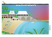 Bermuda Horizontal Scene Carry-all Pouch
