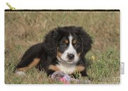 Bernese Mountain Dog Puppy Carry-all Pouch