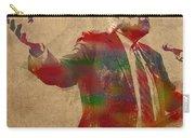 Bernie Sanders Watercolor Portrait Carry-all Pouch
