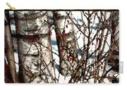 Berries And Birches Carry-all Pouch
