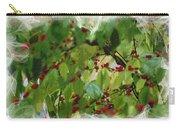 Berries And Leaves 51 Carry-all Pouch