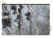 Berries Of Blue Carry-all Pouch